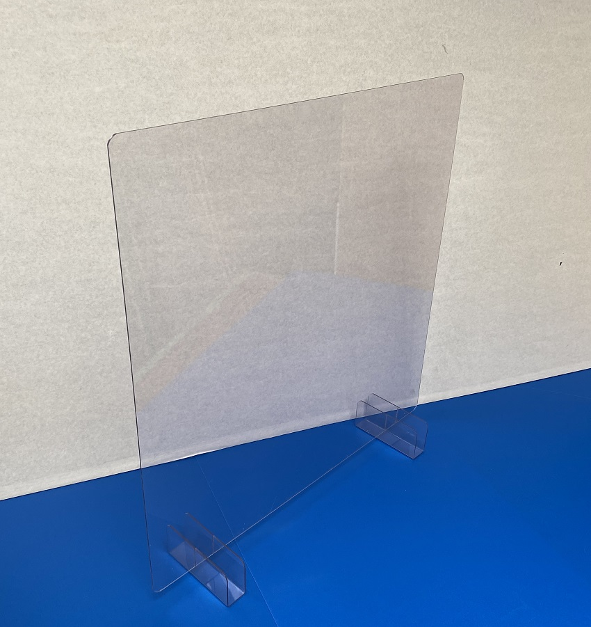 低コスト50cm角の飛沫拡散防止ボード